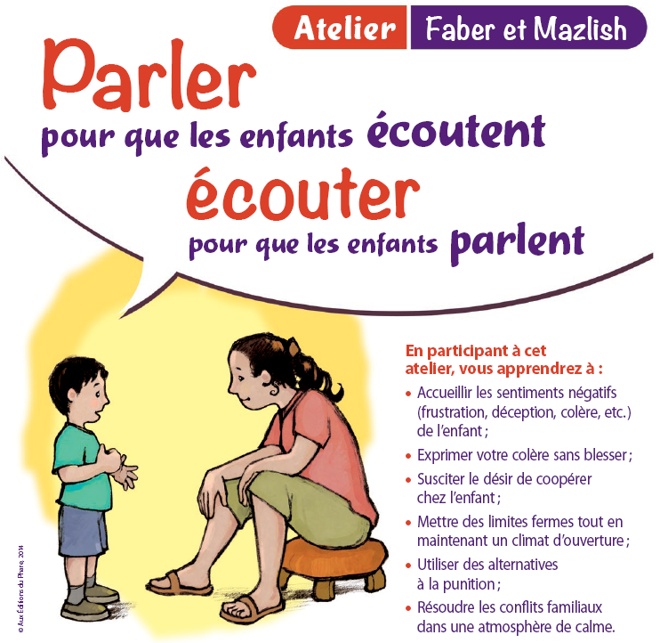 Cycle d'ateliers de soutien à la parentalité